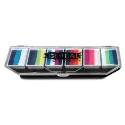 One stroke facepainting pallete
