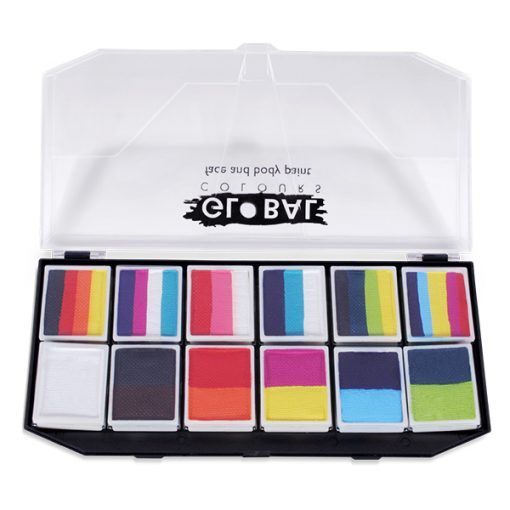 one stroke face painting pallete