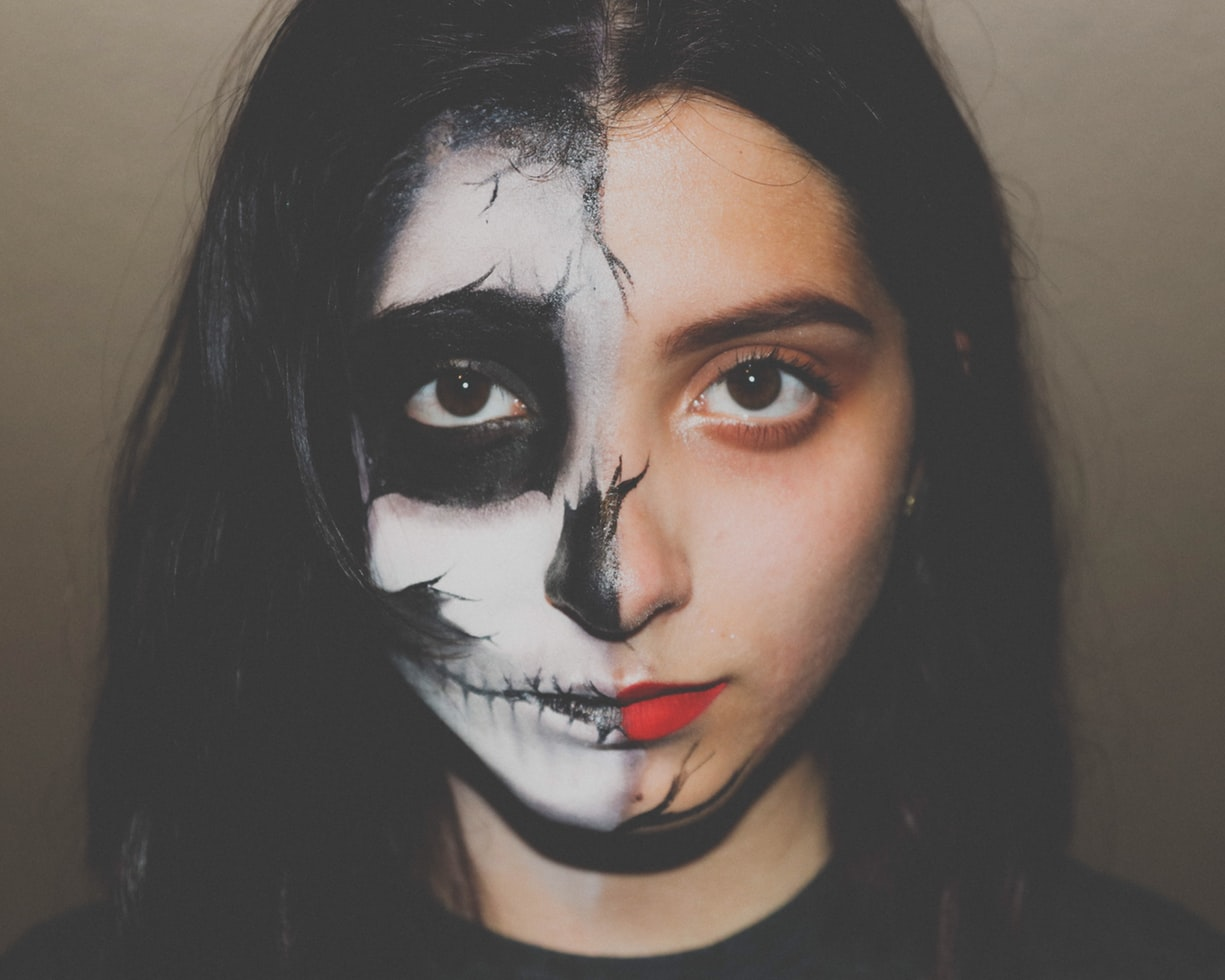 μακιγιάζ σκελετός