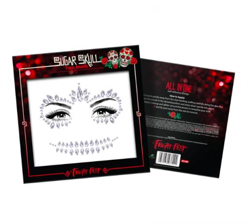 Κοσμήματα προσώπου - Sugar Skull