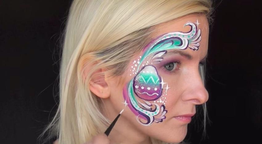 πασχαλινό αυγό face painting