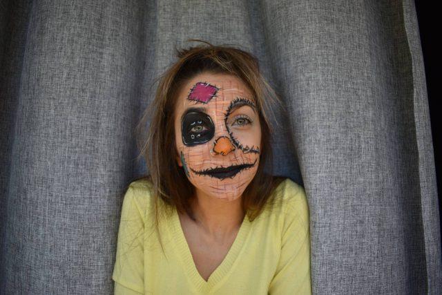 Make up look Σκιάχτρο