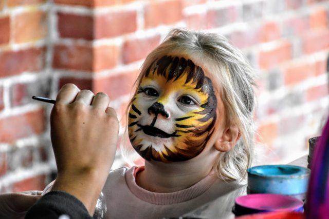 λιοντάρι face painting