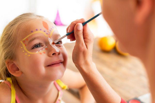 Πριγκίπισσα face painting