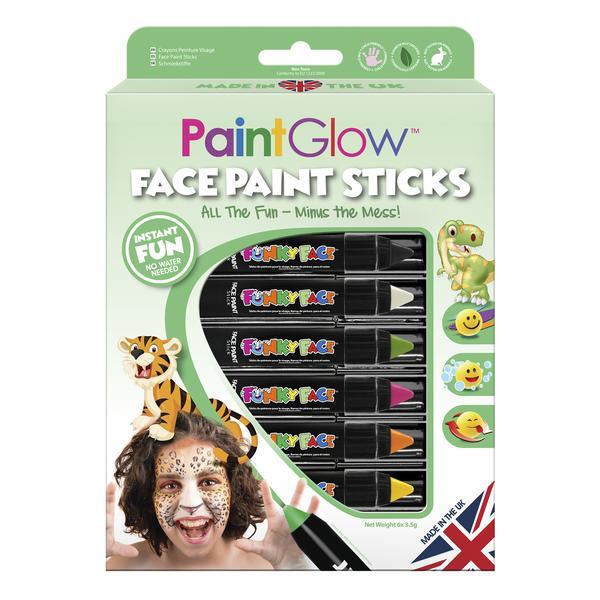 Ζωικό Βασίλειο Set Face Painting